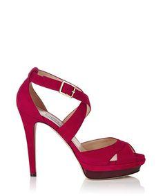 Women's Kuki raspberry suede heels Sale - Jimmy Choo Sale