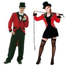 Pareja de Presentadores de Circo #parejas #disfraces #carnaval