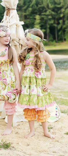One Good Thread - McKenna Dress in Rainbow by Mustard Pie, $68.00 (http://www.onegoodthread.com/mckenna-dress-in-rainbow-by-mustard-pie/)