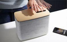 PACO :: Bluetooth динамик цемента и древесины