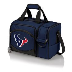 The Houston Texans Malibu Picnic Tote includes picnic service for two.