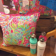 Loving pillows by Lilly Pulitzer! #ShopGeezLouise
