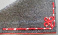 Kaaruspaela kinnnitamine kangale mustriks on sobilikum teha pisikeste eel -ja järelpistetega.