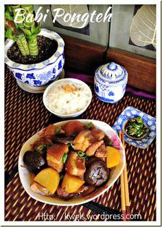 Stewed Meat With Fermented Soya Bean – Babi Pongteh (娘惹豆瓣酱燜蹄膀) | GUAI SHU SHU#guaishushu #kenneth_goh #babi_pongteh#娘惹豆瓣酱燜蹄膀