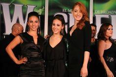 Ana Cecilia Anzaldua, Danna Paola y Cecilia de la Cueva... nuestras protagonistas de Wicked México.