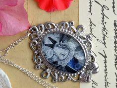Medalion z króliczkiem - Victorian----rose - Medaliony