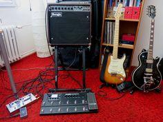 My brand new stuff - Mesa Boogie combo, Line6 multieffect, VH hand-made (czech) distortion...