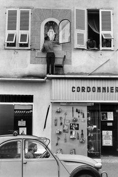Henri Cartier-Bresson // France, Corsica 1969. Ajaccio.