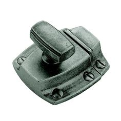Amerock Highland Ridge Distressed Gray Aged Pewter Latch at Lowe's. The Amerock Highland Ridge in mm) Length Latch is finished in Aged Pewter. The Highland Ridge collection creates a sense of Old Cabinet Doors, Old Cabinets, Kitchen Cabinet Hardware, Cabinet Decor, Cabinet Drawers, Cupboards, China Cabinet, Door Latch, Antique Pewter