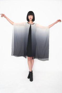 Ombre Dip Dye Dress