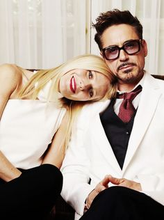 Gwyneth Paltrow & Robert Downey Jr. They are sooo cute!