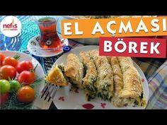 El Açması Ispanaklı Kol Böreği Yapımı – Nefis Yemek Tarifleri