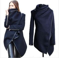 >> Click to Buy << wholesale 2017 Black newly listed Autumn Spring Coat Womens Overcoat Temperament Slim Trench Design women Wool & Blends S-XXL #Affiliate