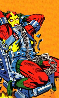 Mr. Miracle (by Jack Kirby)