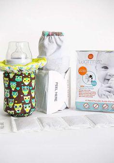Travel Baby Bottle Warmer Kit: Warmze