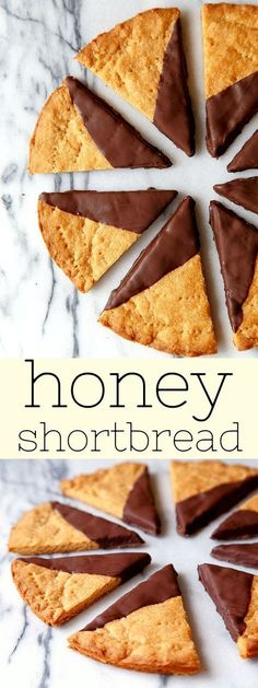 Honey Shortbread. Crisp, perfect shortbread cookie recipe made with honey. Buttery shortbread cookies, easy!