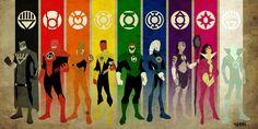 Lantern Corps.