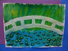 ARTventurous: Claude Monet - Japanese Bridge