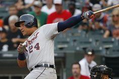 Cabrera y Kinsler aportaron jonrones en juego de 7 innings, Tigers vencen White Sox.