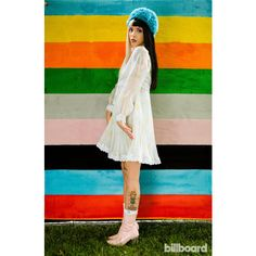 Melanie Martinez The Billboard Photo Shoot ❤ liked on Polyvore featuring people