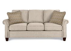 """Lazy Boy--Bree--Oyster color-- style #406 upgraded cushions as they are a bit more firm and sturdy, Overall : 38.00"""" H x 87.75"""" W x 39.00"""" D $989"""