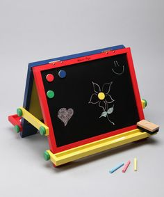Take a look at this Tabletop Easel by Melissa & Doug on #zulily today!