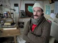 Oliver Jeffers shows us some of his illustration techniques