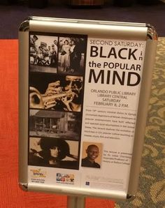 Black in the Popular Mind @ Orlando Main Library in