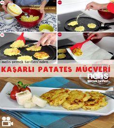 Kaşarlı Patates Mücveri Nasıl Yapılır