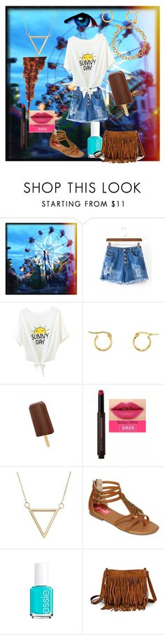 """""""Summer Vibes #5"""" by arstymolly ❤ liked on Polyvore featuring Itsy Bitsy, POP, Essie, Mossimo Supply Co. and Kate Spade"""