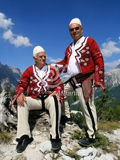 traditional+culture | albanian men in local traditional dress tags outdoor albania culture ...