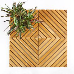 Instead of completely demolishing your deck and building a new one, just use these decking tiles that snap on over your existing deck. This is a great budget-friendly idea to completely makeover your deck without much work or money! See our top picks for decking tiles that can be installed in less than a day.