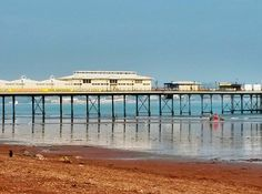Paignton pier - mad Brits at the seaside in October. A bit chilly now but it was gorgeous earlier and there are a lot of people here.