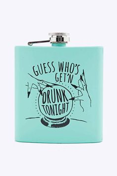 Guess Who's Getting Drunk Hip Flask
