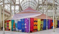 Tuiza. Una jaima con techo de cristal, Federico Guzman (Palacio de Cristal del Retiro de Madrid)