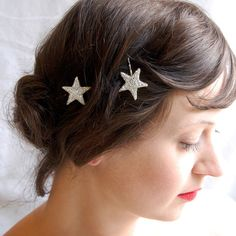 Clementine — Twinkle Sparklers ~ Silver & Gold Glass Stars