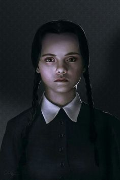 The Addams Family - Wednesday Addams The Addams Family, Addams Family Wednesday, Wednesday Addams Makeup, Wednesday Addams Cosplay, Happy Wednesday, Halloween Kostüm, Halloween Makeup, Halloween Costumes, Christina Ricci