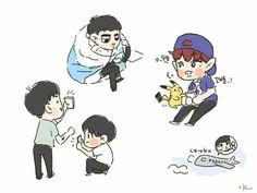 ExO Heart Fan Art