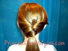 Twisted Fancy Ponytail Styles Hair4myprincess