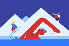 Google Fit – Illustration by Philipp Dornbierer