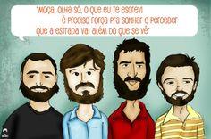 Além do Que Se Vê - Los Hermanos (Composição: Marcelo Camelo)