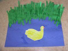 Katie's Nesting Spot: Storytime Art: Little Quack