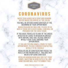 COVID - 19  Whilst I am very aware that the situation regarding coronavirus is still evolving. At this time in the uk confirmed cases are relatively low. Classing the virus as a moderate threat. I feel that I should have protocols in place to reduce the risk of disease spreading.  To protect both clients and myself. I have experienced true flu in the past and it was not pleasant. I have family members as I am sure you do too that perhaps would not cope very well in the event that they… Very Well, Flu, Hand Sanitizer, About Uk, Cases