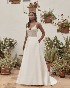 Style BL337-2 Emerald | Affordable Simple Romantic Wedding Dress by Beloved | Beloved By Casablanca Bridal Bridal Stores, Formal Dresses, Wedding Dresses, Bodice, Casablanca, Tulle, Romantic, Gowns, Emerald