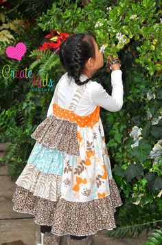 fairytale frocks and lollipops :: create kids couture, blair's bustled knot dress, girls dress, sewing, instant, e-pattern, downloadable pattern, pdf pattern, e-book, tutorial
