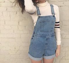 Dungaree Short