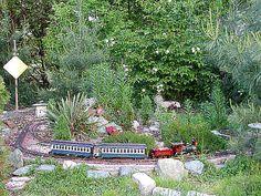 Passenger Trains - Garden Railway, Spring 2002