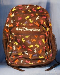 Disney Walt Disney World Resort Backpack Mickey Mouse Bag #DisneyParksAuthentic