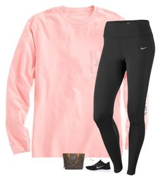 """I NEED SPRING BREAK"" by classynsouthern ❤ liked on Polyvore featuring Vineyard Vines, NIKE, Majorica, Louis Vuitton, women's clothing, women's fashion, women, female, woman and misses"