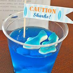 Surfing Birthday Party  | Sharks! | MyRecipes.com